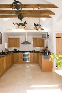 holiday accommodation near Edinburgh with a kitchen to die for